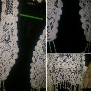 Tops - Knit Crochet Vest New Just In*